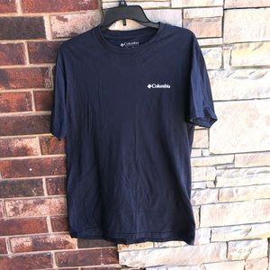Columbia Navy T-shirt Men M